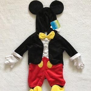 NWT Disney  Mickey Mouse Costume Jumper 3 mon